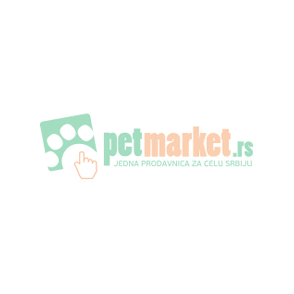 Patento Pet: Ogrlica sa integrisanim povodcem Collar Sport, crna