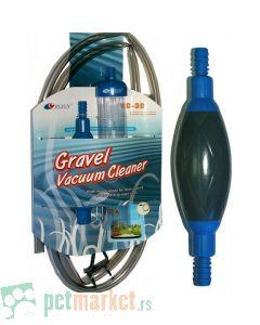 Resun: Pribor za čišćenje akvarijuma sa pumpicom Vacuum Cleaner VC-3B