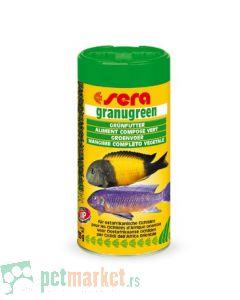 Sera: Hrana za ciklide Granugreen, 250 ml