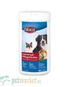 Trixie: Univerzalne vlažne maramice, 30 kom
