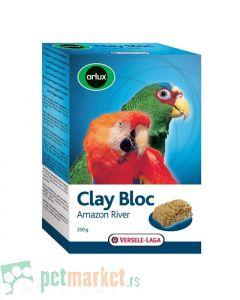 Orlux  Kamen za kljucanje Clay Bloc Amazon River 550gr