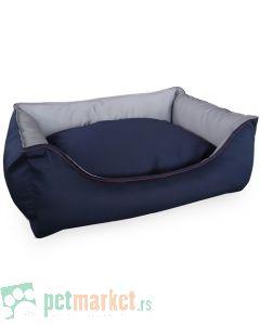 Pet Line: Krevet za pse 2u1 Teget-Sivi