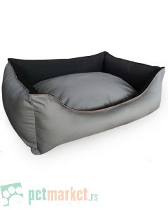 Pet Line: Krevet za pse 2u1 Sivi
