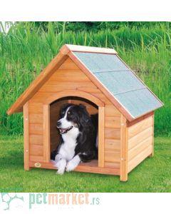 Trixie: Drvena kućica za pse Natura, M