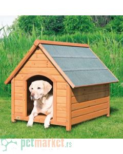 Trixie: Drvena kućica za pse Natura, L