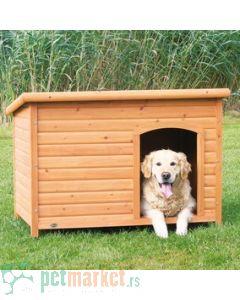 Trixie: Drvena kućica za pse sa ravnim krovom Natura, XL