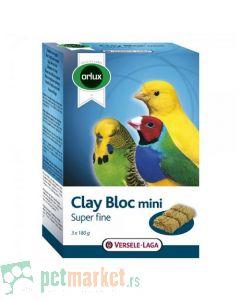 Orlux  kamen za kljucanje Clay bloc Mini