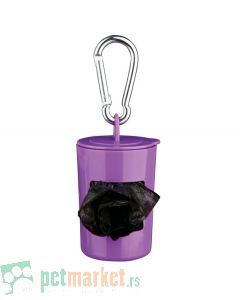 Trixie: Ljubičasta torbica sa 2x20 toalet kesica