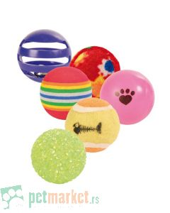 Trixie: Set 6 loptica za mace