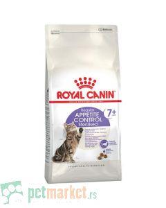 Royal Canin: Health Nutrition Sterilised Appetite Control +7, 400 g