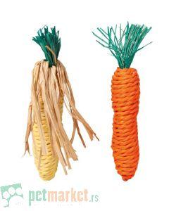 Trixie: Igračke šargarepa i kukuruz