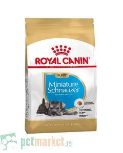 Royal Canin: Breed Nutrition Patuljasti Šnaucer Puppy, 1.5 kg