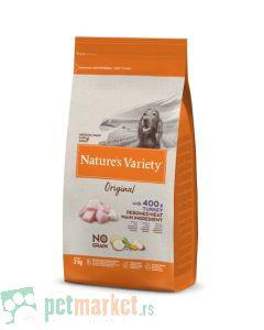 Nature's Variety: Hrana za pse Medium Adult Original Grain Free, Ćuretina