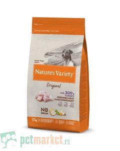 Nature's Variety: Hrana za pse Mini Adult Original Grain Free, Ćutetina, 1.5 kg