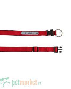 Trixie: Ogrlica sa adresarom Premium crvena