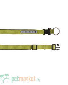 Trixie: Ogrlica sa adresarom Premium zelena