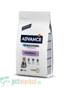Advance: Hairball Ćuretina & Pirinač, 1.5 kg