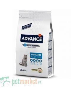 Advance. Hrana za odrasle, sterilisane mačke Adult Srerilized Ćuretina