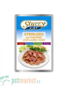 Stuzzy: Komadići mesa u sosu za sterilisane mačeke, 100 gr