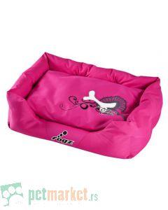 Rogz: Ležaljka za pse Pink Bone