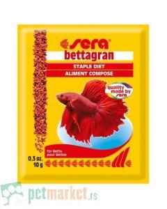 Sera: Hrana za borce sa spirulinom Bettagran, 10 gr