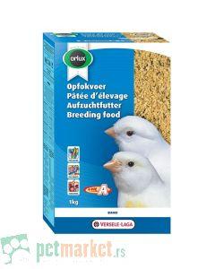Orlux: Jajčana hrana za svetle kanarince Eggfood Dry Beli