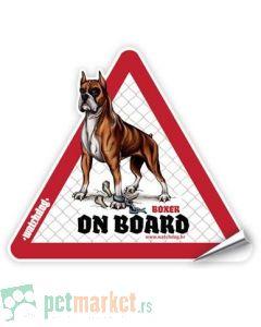 Watchdog: Nalepnica  za auto Bokser
