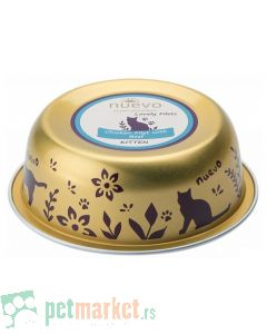 Nuevo: Vlažna hrana za mačiće Kitten Bowl, Pileći fileti i Govedina, 6 x 85 gr (160 din/kom)
