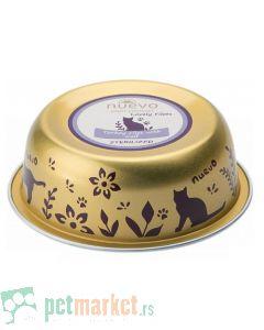 Nuevo: Vlažna hrana za sterilisane mačke Sterilised Bowl, Ćureći fileti i Teletina, 6 x 85 gr (160 din/kom)