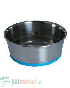 Rogz: Posuda od nerđajućeg čelika Slurp Bowlz, Blue
