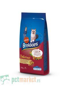 Brekkies: Cat Delicious Meat, 20 kg