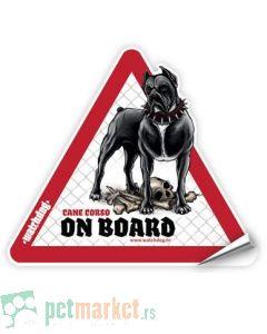 Watchdog: Nalepnica za auto Kane Korso