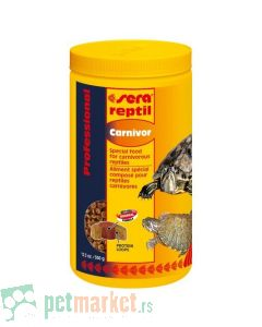 Sera: Hrana za mesožderne reptile Reptil Profesional Carnivor