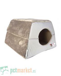 Rogz: Kućica ležaljka za mace Igloo Podz, Heart Tails