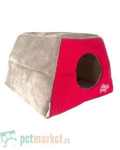 Rogz: Kućica ležaljka za mace Igloo Podz, Tango Fishbone