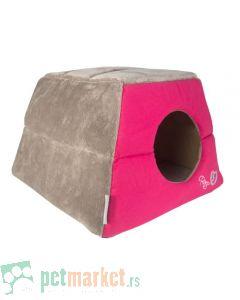 Rogz: Kućica ležaljka za mace Igloo Podz, Candy Stripe