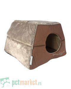 Rogz: Kućica ležaljka za mace Igloo Podz, Bronze Filgree