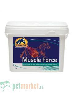 Cavalor: Prirodan preparat za pokretanje i uvećanje mišićne mase kod konja Muscle Force