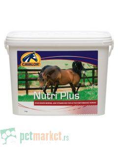 Cavalor: Dodatak ishrani za konje u intezivnim treninzima i takmičenjima Nutri Plus, 5 kg