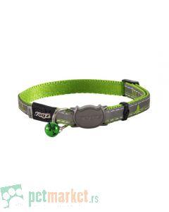 Rogz: Reflektujuća ogrlica za mace Night Cat, Limeswallows