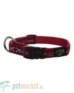 Rogz: Ogrlica za pse Red Heart
