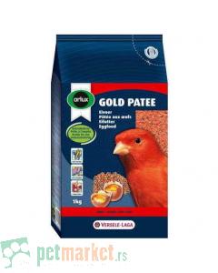 Orlux: Jajčana, meka hrana za ptice Gold Patee Crveni
