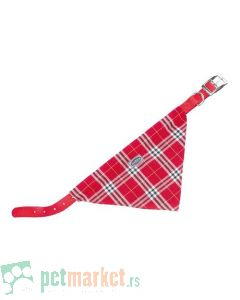 Nobby: Ogrlica za pse sa maramom, crvena