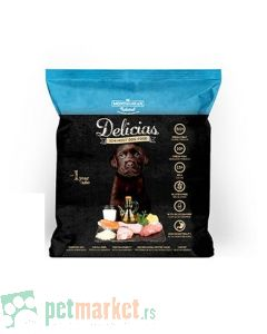 Mediteran Nature: Poluvlažna hrana za štence Delicias, 800 gr