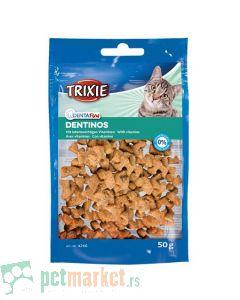 Trixie: Poslastica za čišćenje zuba Dentinos, 50 gr