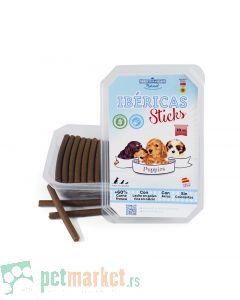 Mediterranean Nature: Mesni štapići za štence Ibericas Puppy Sticks, 70 kom