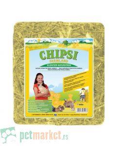 Chipsi: Podloga od slame za male životinje Farmland, 800 gr