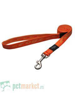 Rogz: Povodac za pse Alpinist, narandžasti