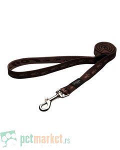 Rogz: Povodac za pse Alpinist, braon
