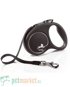 Flexie: Povodac Black Design Tape, Sivi
